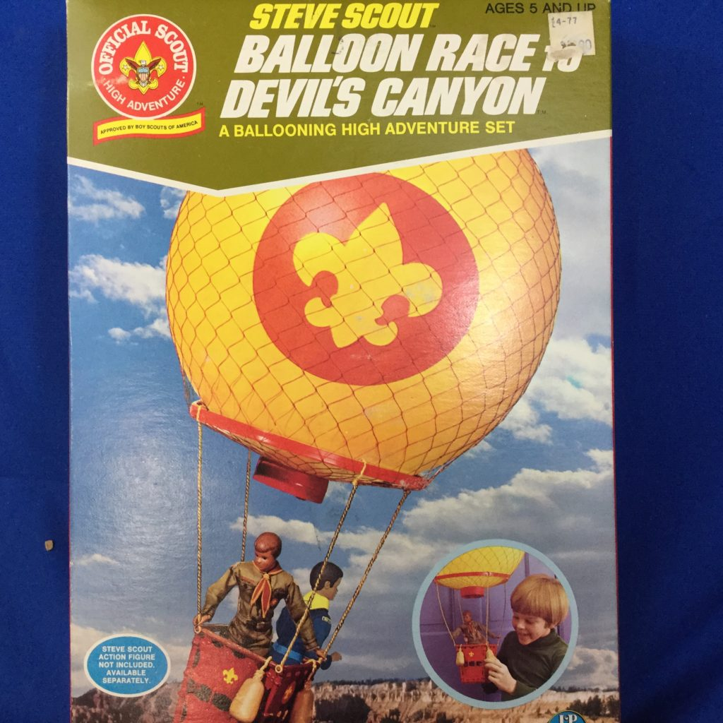 Steve Scout Balloon Race