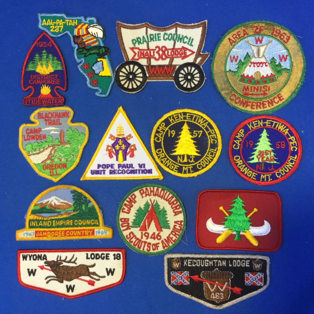 Camp & OA Patches