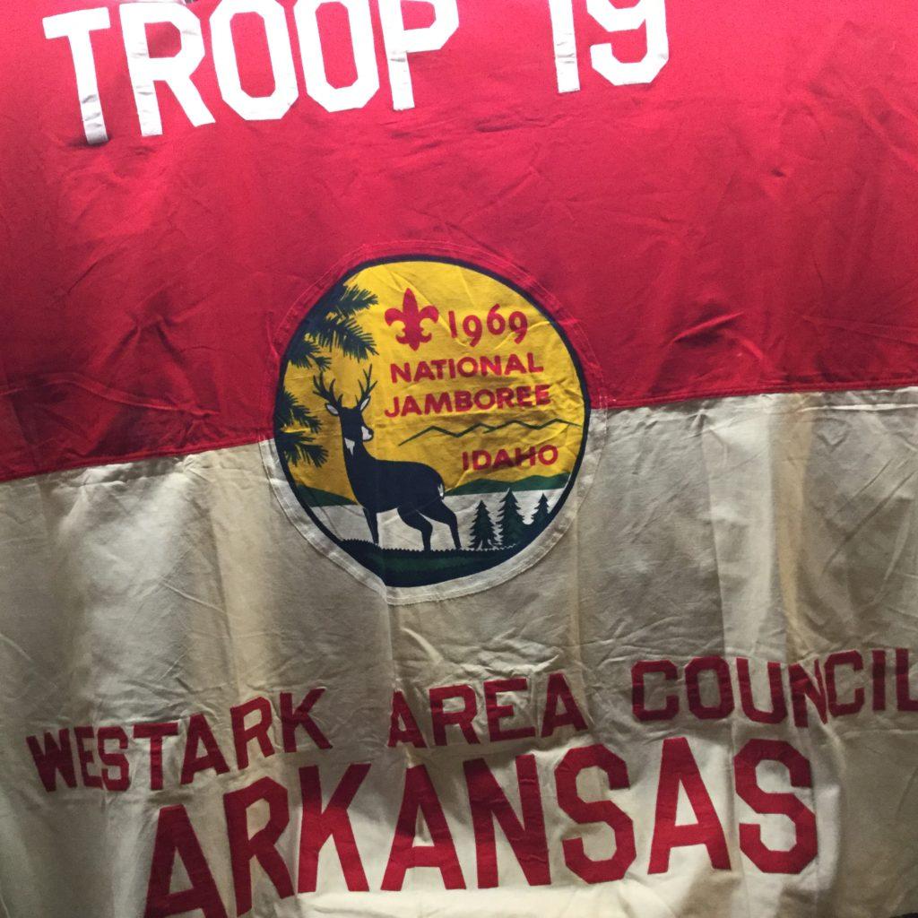 1969 Jamboree Flag Westark Area Council