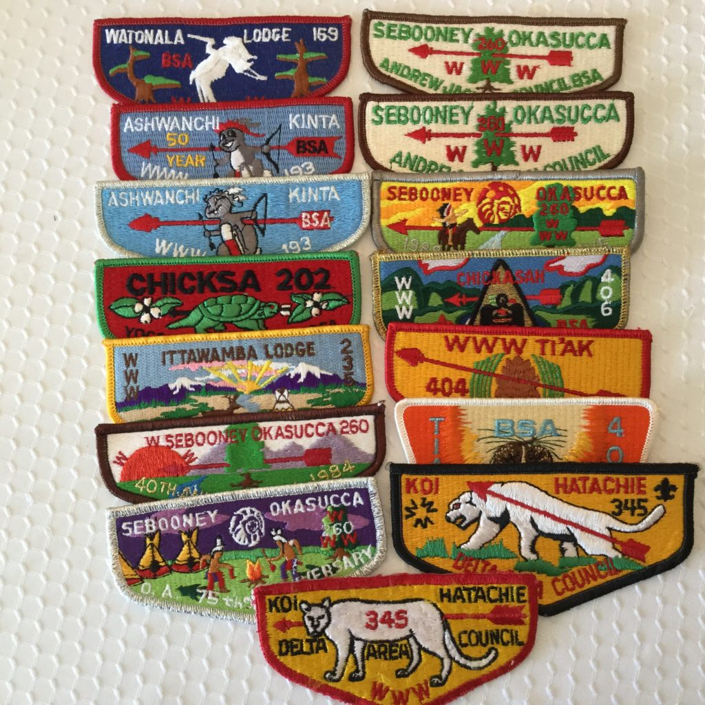 OA Pocket Flap Patches