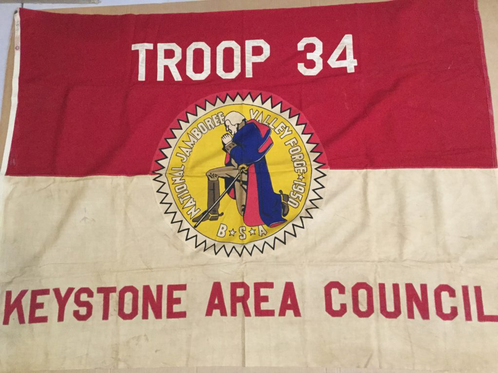 1950 Jamboree Flag Keystone Area Council