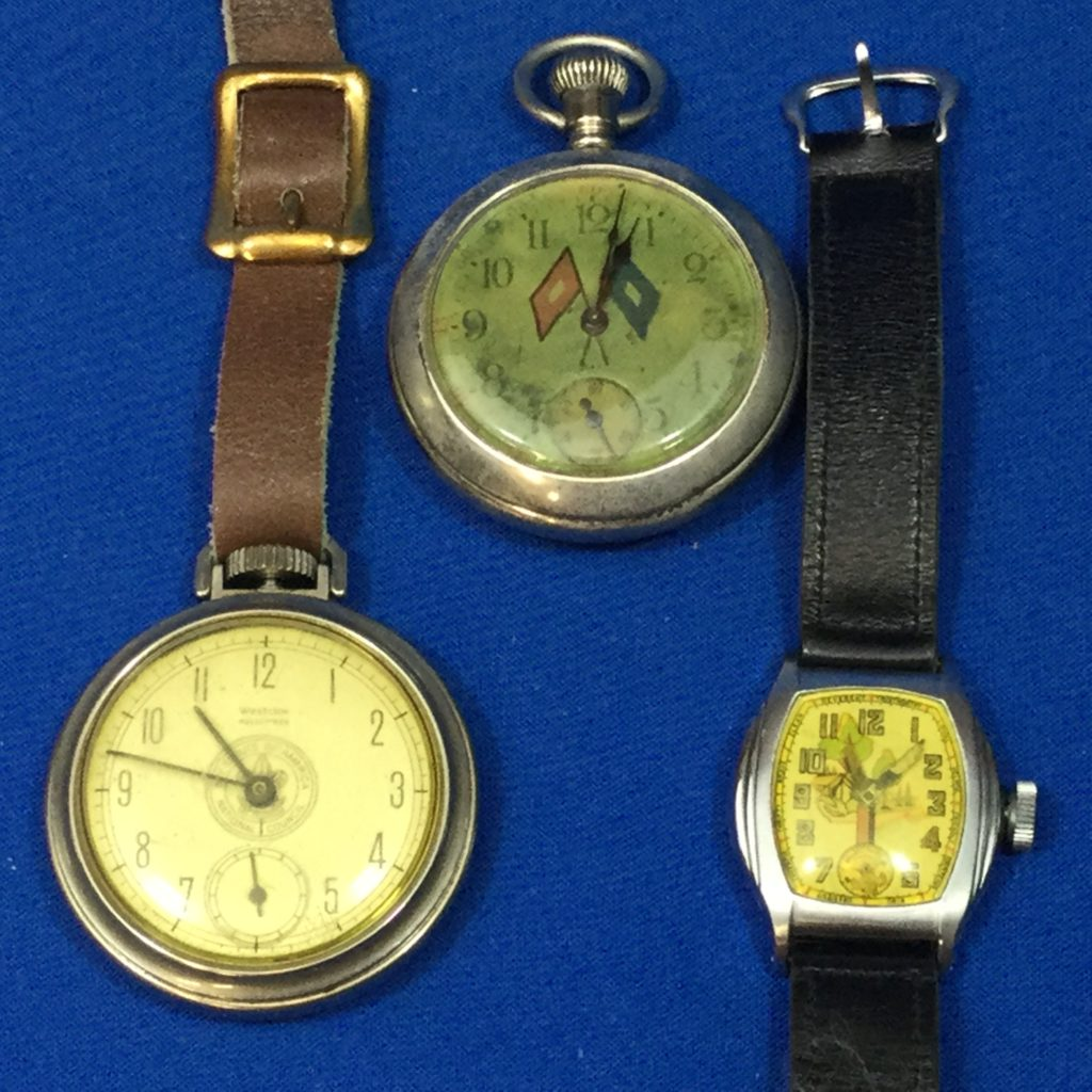 Vintage Boy Scout Time Pieces