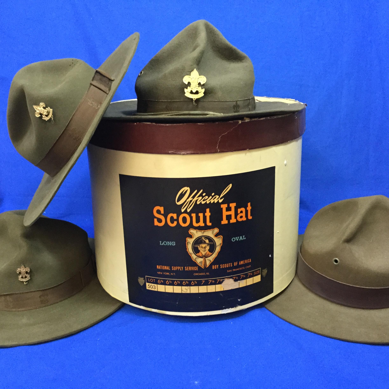 Boy Scout Campaign Hats