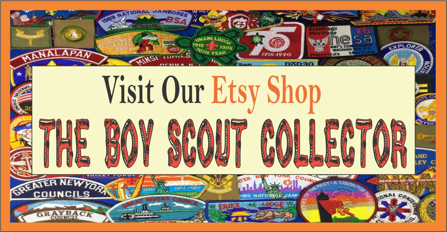 Visit Our Etsy Shop The Boy Scout Collector